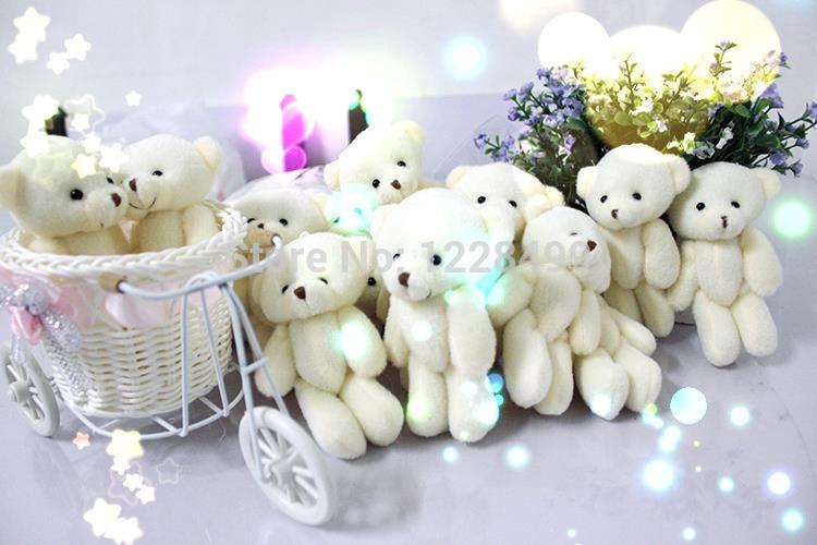 100ชิ้น/ล็อต12เซนติเมตรโปรโมชั่นของขวัญสีขาวมินิหมีของเล่นตุ๊กตาร่วมตุ๊กตาหมีช่อตุ๊กตา/อุปกรณ์โทรศัพท์มือถือ-ใน ตุ๊กตาสัตว์และตุ๊กตาผ้ากำมะหยี่ จาก ของเล่นและงานอดิเรก บน   2