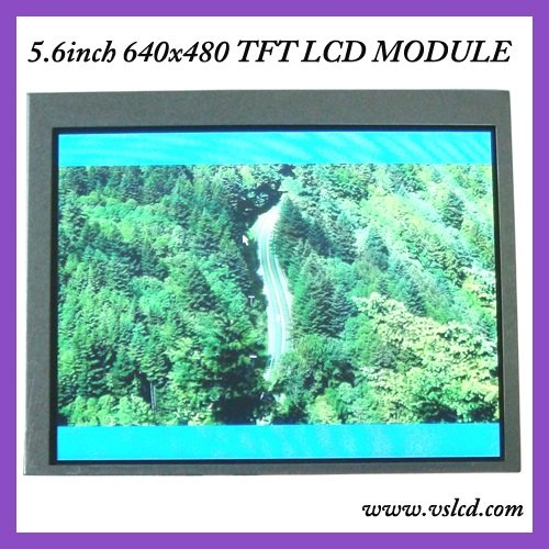 5.6inch tft lcd display LCM AT056TN53 V.1 640x480 resolution high brighness led backlight 350cd/m2