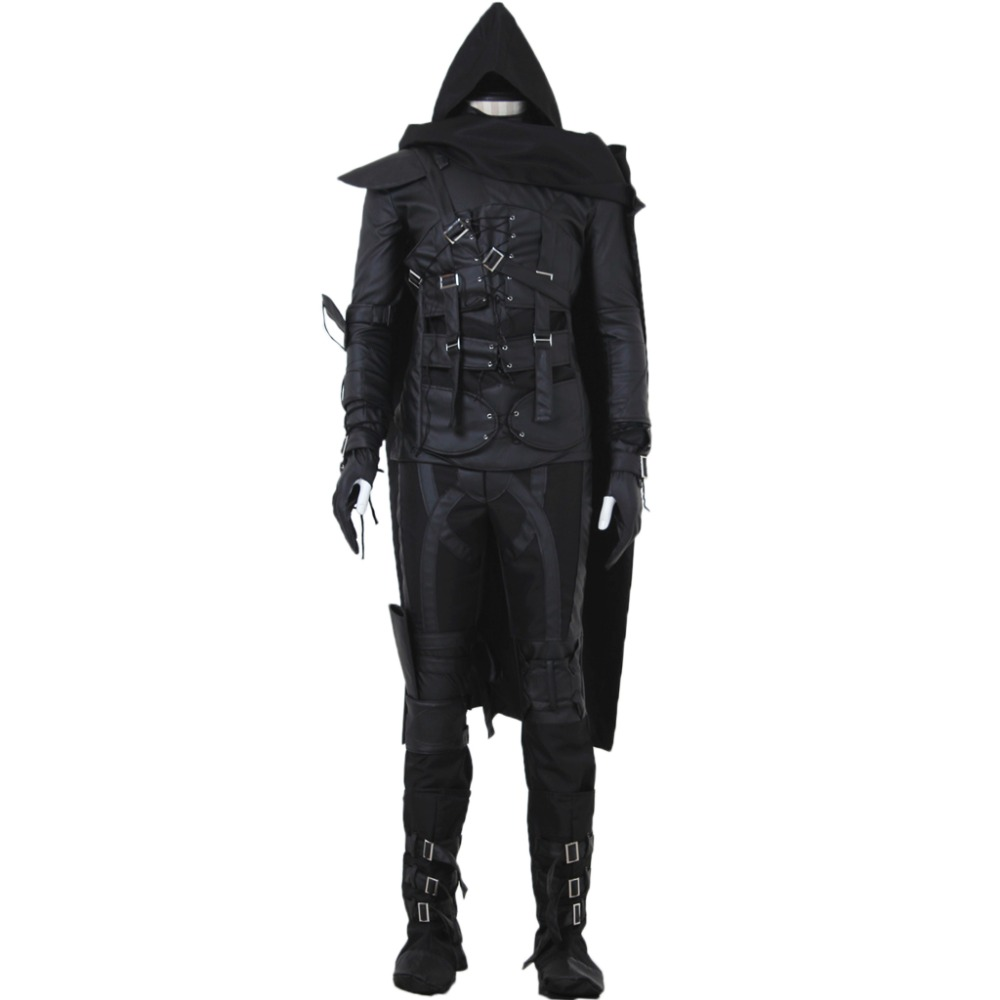 Hot Game Thief 4 Cosplay Costume Adult Halloween Costume for men Black full outfit Custom Made image