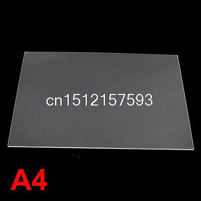 2mm Clear Perspex Acrylic Cut Plexiglass Sheet A4 Size 210mm x 297mm 5 3 2mm osc 5032 19 6608m 19 6608mhz