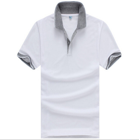 2019 Homens Sólidos de Verão Clássico Plus Size Camisas de - Roupas masculinas