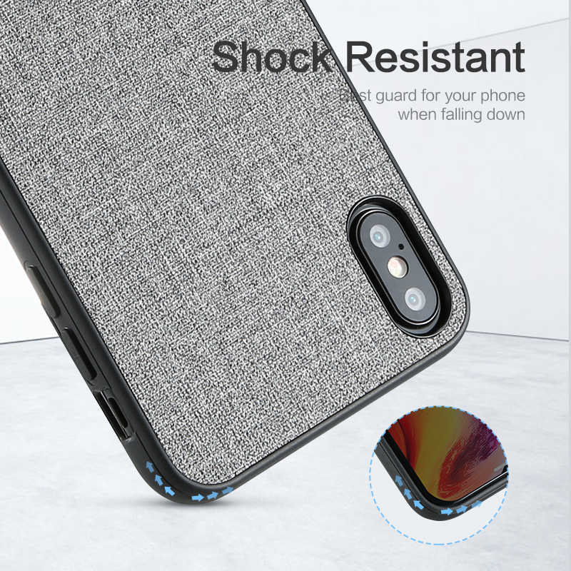 KISSCASE Fabric PU Leather Case For Huawei Mate 20 P20 p30 Lite Pro P Smart Plus Retro Phone Case On For Honor 10 Lite 8X Covers