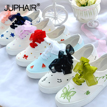 Children's Hand-painted Shoes Graffiti Canvas Girl Hand Painted Shoes College White Blue Simple Breathable Summer Autumn Red Lac
