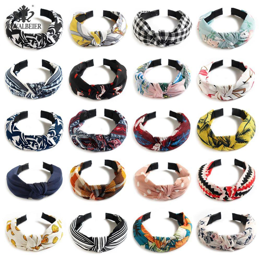 Color Knot Cross Headband Adjustable Hair Band No Sliding Knotted Head Female Four Seasons Available Hair Accessories 1pcs