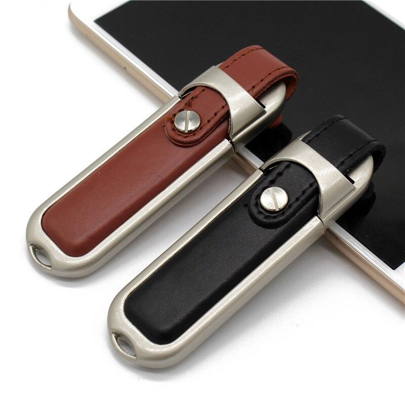 BiNFUL Leather 64GB USB Flash Drive 32GB 16GB 8GB 4GB Pen Drive Usb Flash Drive Usb2.0