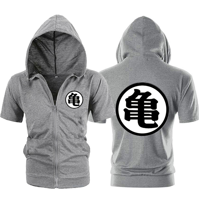 DRAGON BALL LOGO THEMED ZIP-UP HOODIE (6 VARIAN)