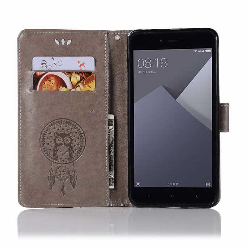 محفظة جلدية الحال بالنسبة شاومي Redmi نوت 4 حافظة الوجه جراب هاتف شاومي Redmi نوت 5A جراب هاتف شاومي Redmi 4 4X 4A 5A حالات