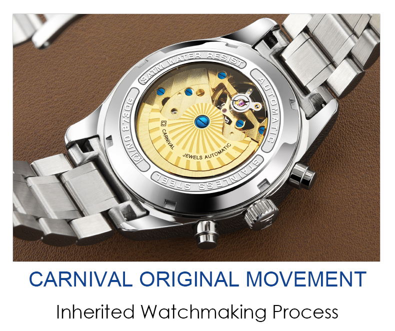impermeable masculino reloj Carnaval 6