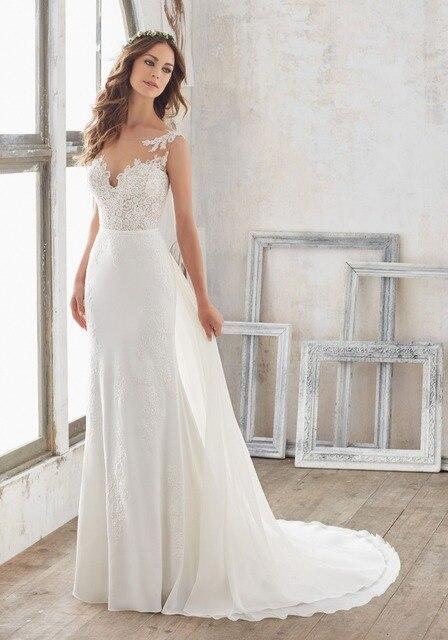 vestidos de novia sin cola – vestidos de noche