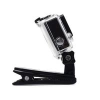Зажим для экшн-камеры GoPro Hero 8 7 6 5 4 крепление на 360 градусов Поворотный Зажим рюкзак Крепление для Session 3 + 3 SJCAM SJ4000 Garmin 1