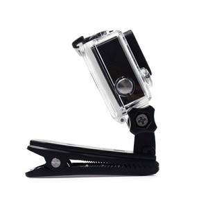 Image 2 - กล้องคลิปสำหรับGoPro HERO 8 7 6 5 4 Mount 360 องศาคลิปกระเป๋าเป้สะพายหลังสำหรับเซสชัน 3 + 3 SJCAM SJ4000 Garmin