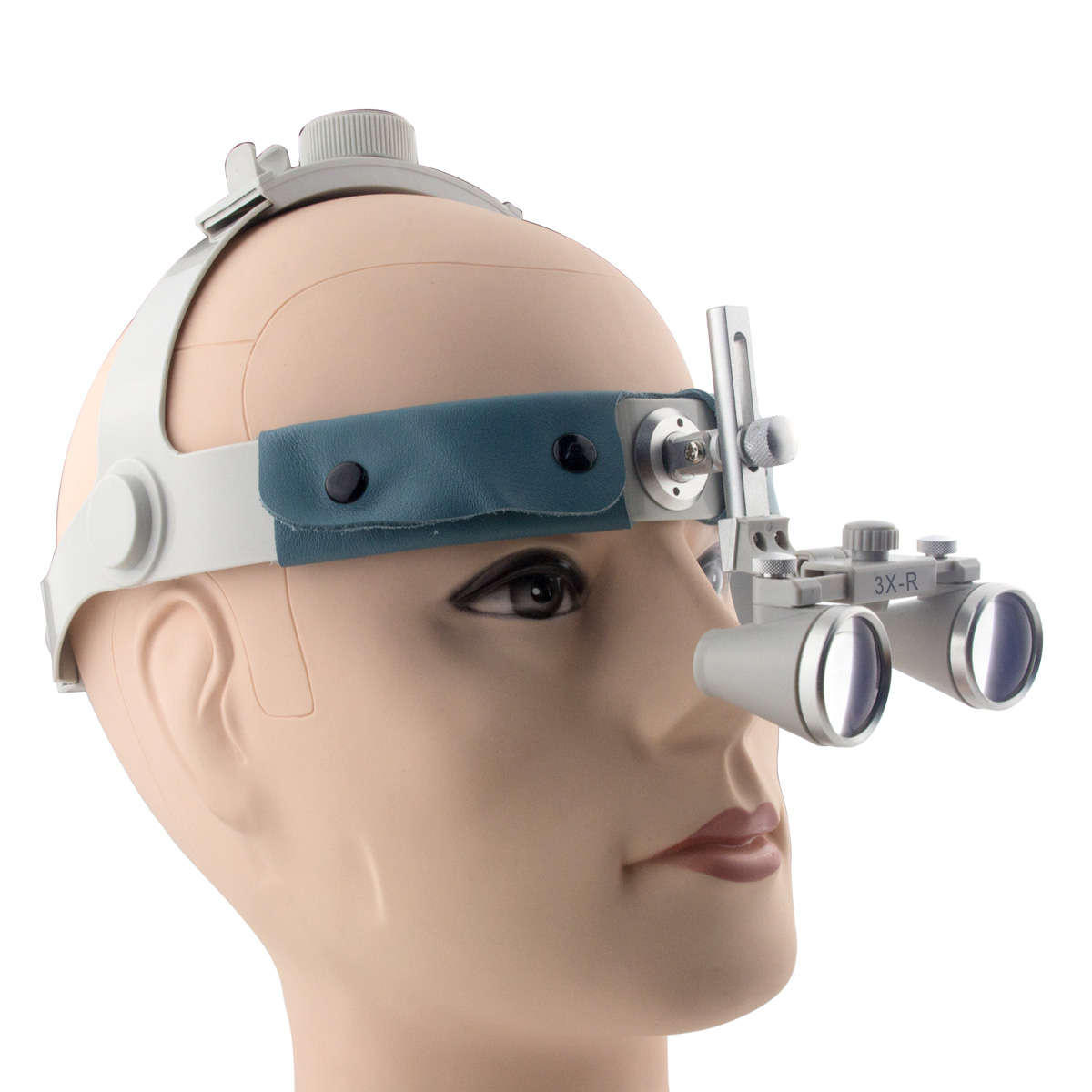 Spark 3.0x Magnification Professional Loupes with Comfortable Headband and Mounted LED Head Light forSurgical, Jeweler, or Hobby  spark 2 5x magnification dentist surgical medical binocular dental loupes with comfortable headband and mounted led head light