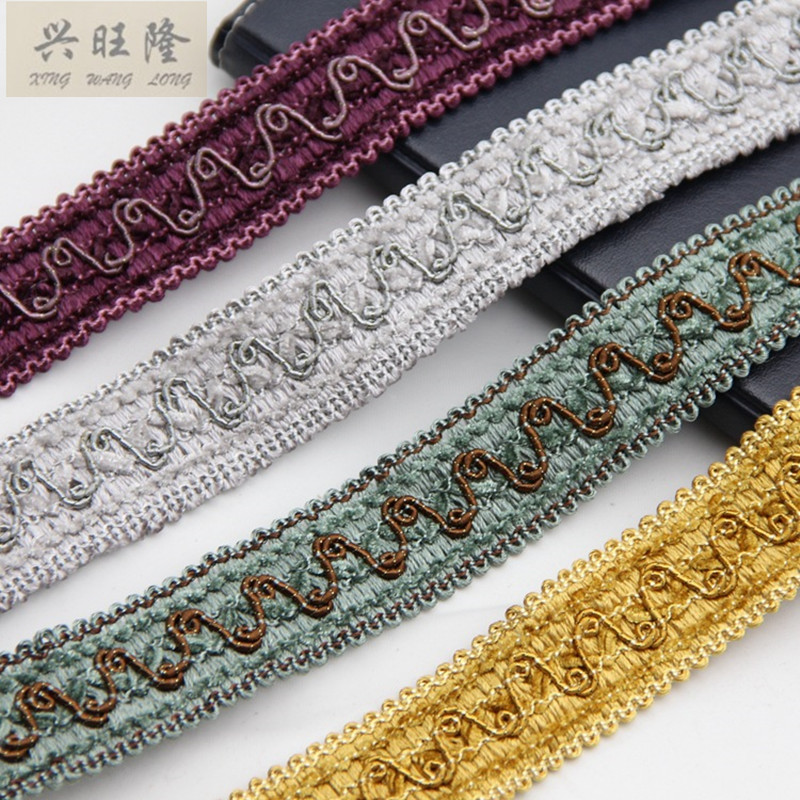 XWL 12M/Lot 3cm Width Lace Trim Edging Wedding Garment Pillow Braid - Arts, Crafts and Sewing - Photo 1