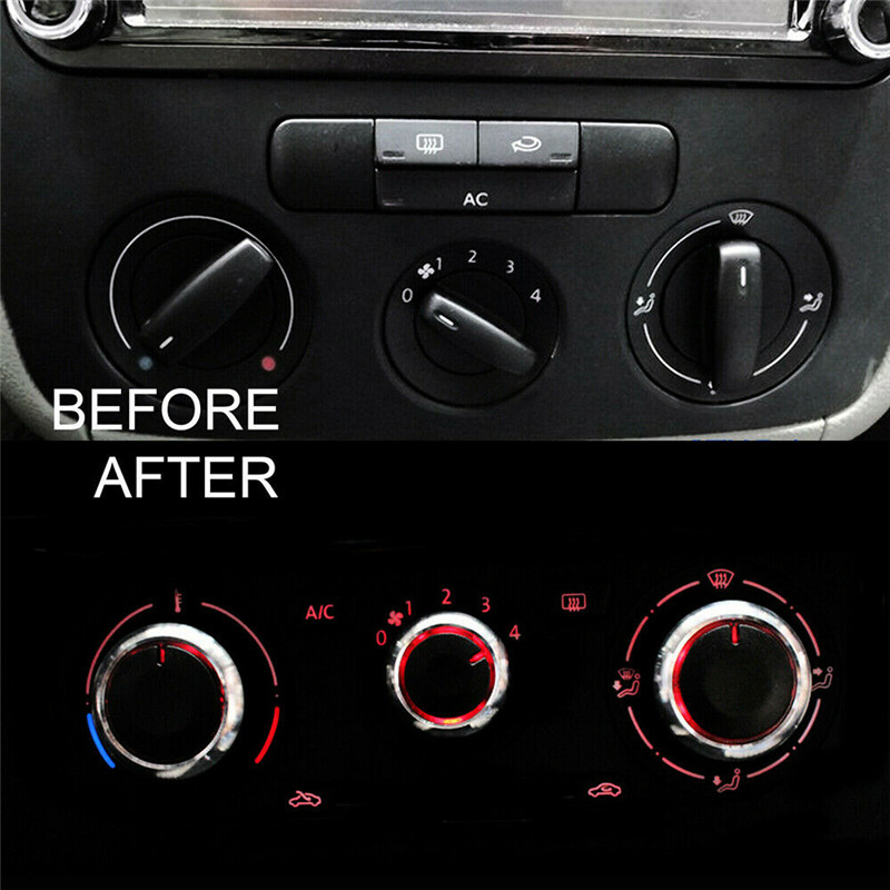 Vauxhall Astra H silver heater control panel and switches with air con