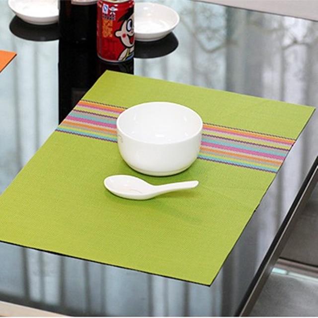 Restaurant Kitchen Accessories aliexpress : buy 4pcs fashion pvc anti hot western pad