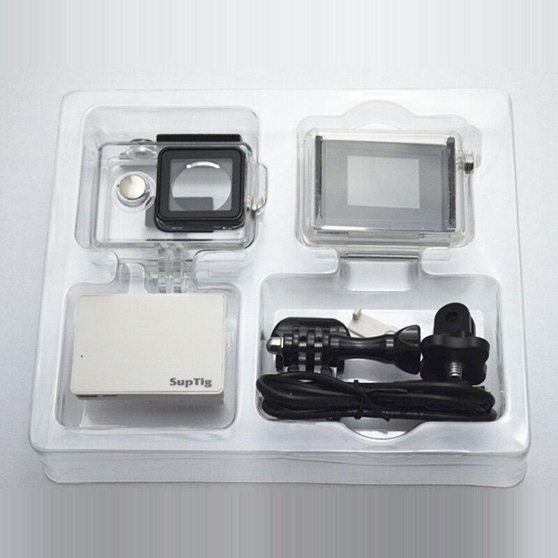 Per Xiaomi Yi Caso Con DISPLAY LCD/Batteria Backdoor Impermeabile Box + Display LCD Screen + Carica Batteria + Adattatore per Xiaoyi Accessores Set