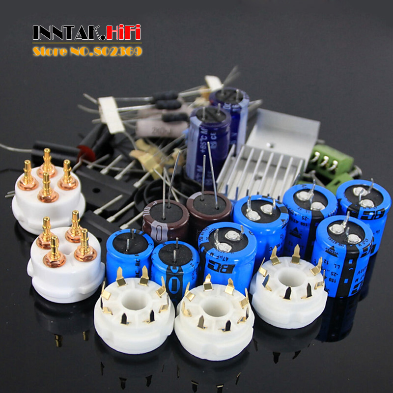 bilder für Hallo-end 300B + 6SN7 6SL7 + 5U4G Single-ended Class A röhrenverstärker DIY Kit (Ohne Rohr) 8 Watt + 8 Watt, freies verschiffen