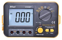 Digital Insulation Resistance Tester VICI Megger MegOhm Meter 250V 500V 1000V High Voltage And Short Circuit Input Alarm