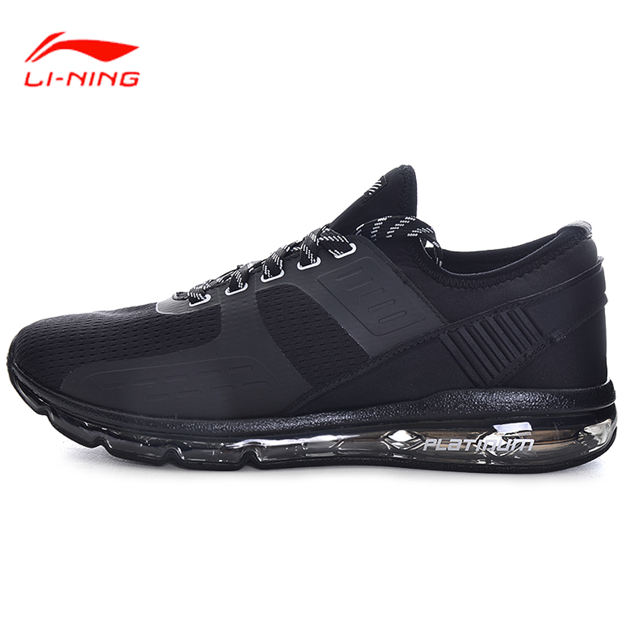 Li Ning Li-Ning Men Shoes Sports Life Walking Shoes Breathable Comfort LiNing Sports Shoes Leisure Sneakers GLKM063 zip cuff faux leather moto jacket