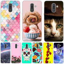 For Samsung J8 2018 Case Silicone etui for Galaxy Cover Coque Funda J810 Phone