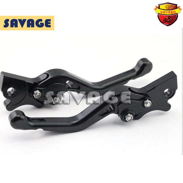 ФОТО Motorcycle CNC Billet Aluminum Short Brake Clutch Levers For GILERA Runner 200 2003-2008 Black