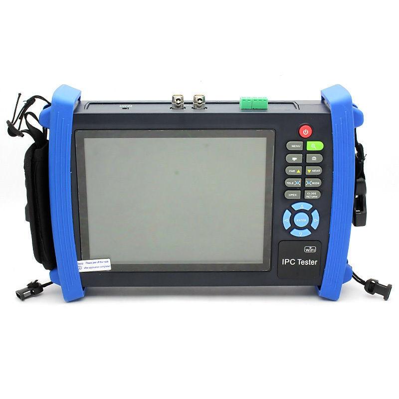 IPC-8600MOVTADHS CCTV 7 Touch Screen IP Camera CCTV Test AHD TVI CVI SDI Camera Tester Monitor TDR OPM MULTI VFL ONVIF WIFI