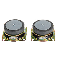 OOTDTY  2pcs 2 inch 53mm 4Ohm 3W Full Range Audio Speaker Stereo Woofer Loudspeaker New