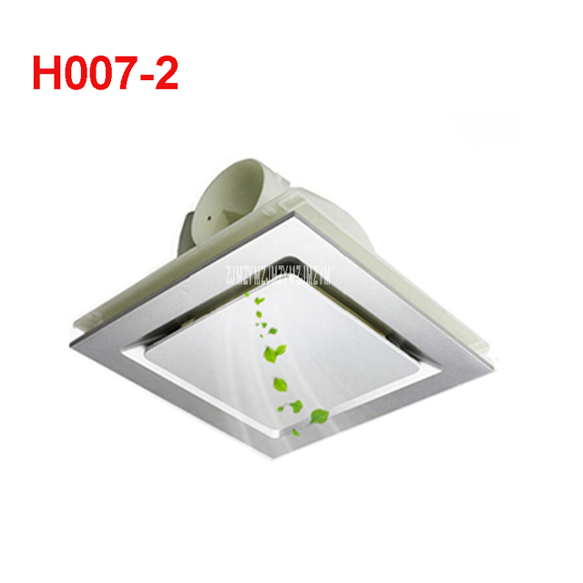 H007 2 Mini Wand Fenster Abluftventilator Badezimmer Küche Toiletten ...