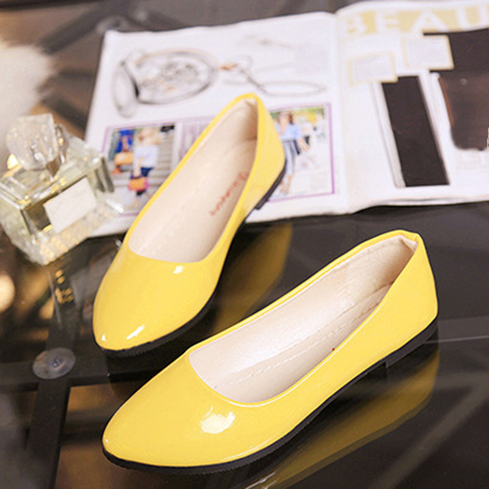 Mode Chaussures Femmes purple Sandales automne Dames Taille Coloré Casual Confortable 10 Printemps De Beige Plat blue Style yellow Slip Nouveau pink Travail white Grande Sur CwqIz55B