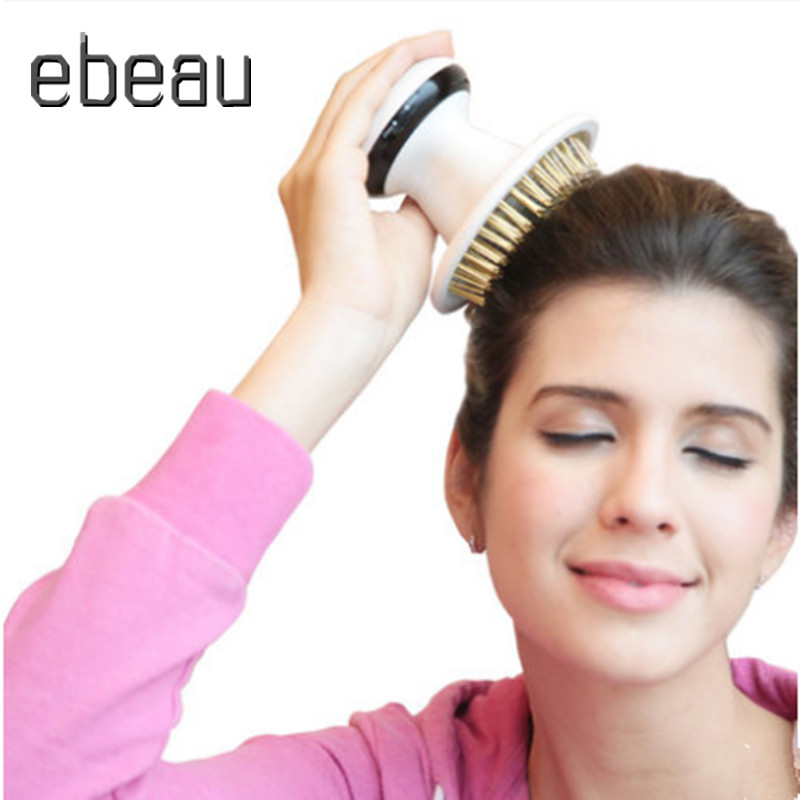 Head Massager  Bath Massage Brush Scalp &Relaxation Infrared electric massager scalp to relieve stress insomnia claw device