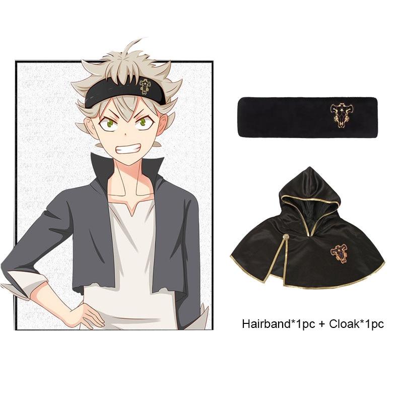Black Clover Emperor Logo Headband Asta Yuno Head Wear ...