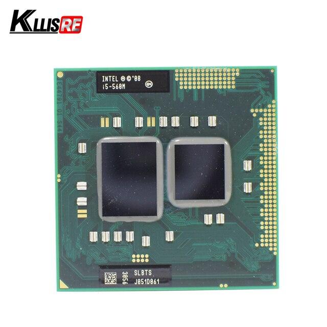 إنتل كور i5 560 M 2.66 GHz ثنائي النواة المعالج PGA988 SLBTS المحمول وحدة المعالجة المركزية