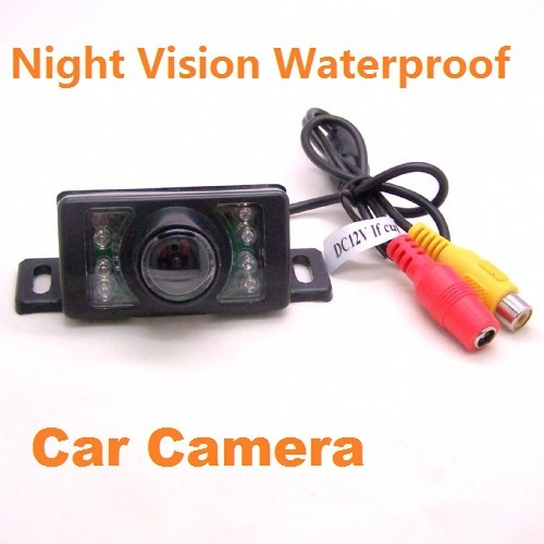 12v  Night Vision Rear  waterproof  Reversing  Backup Car Camera