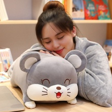 New 40-70cm Soft Love Pig Mouse Hamster Plush Pillow Stuffed Cute Animal Cushion Chinese Pig Mouse Toy Doll Birthday Gift Kid 1pc 40cm simulation lovely stuffed pig toy soft animal pig doll cute cartoon pig pillow kids toy creative birthday gift for girl
