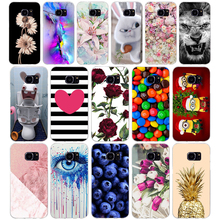 S For Samsung Galaxy S7 egde case Cover for Samsung Galaxy S