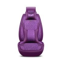 2018 New Flax Universal Car Seat Covers 5 Auto Cushion Fit Honda Accord 7 8 9