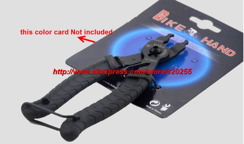 2in1 Bicycle Tire Levers Plastic Master Link Chain Plier Wheel Repair Tool HO3