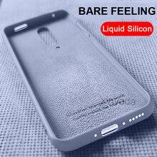 купить Phone Cases For OnePlus 7 Pro One Plus 7 Pro 1+7 Case Liquid Silicone TPU Rubber Soft Cover Slim Shockproof Coque Fundas Shell дешево