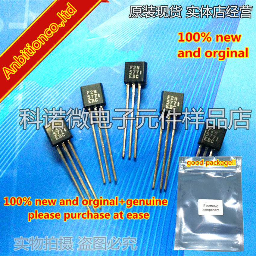 10pcs 100% New And Orginal 2N5771 TO-92 PNP Switching Transistor  In Stock