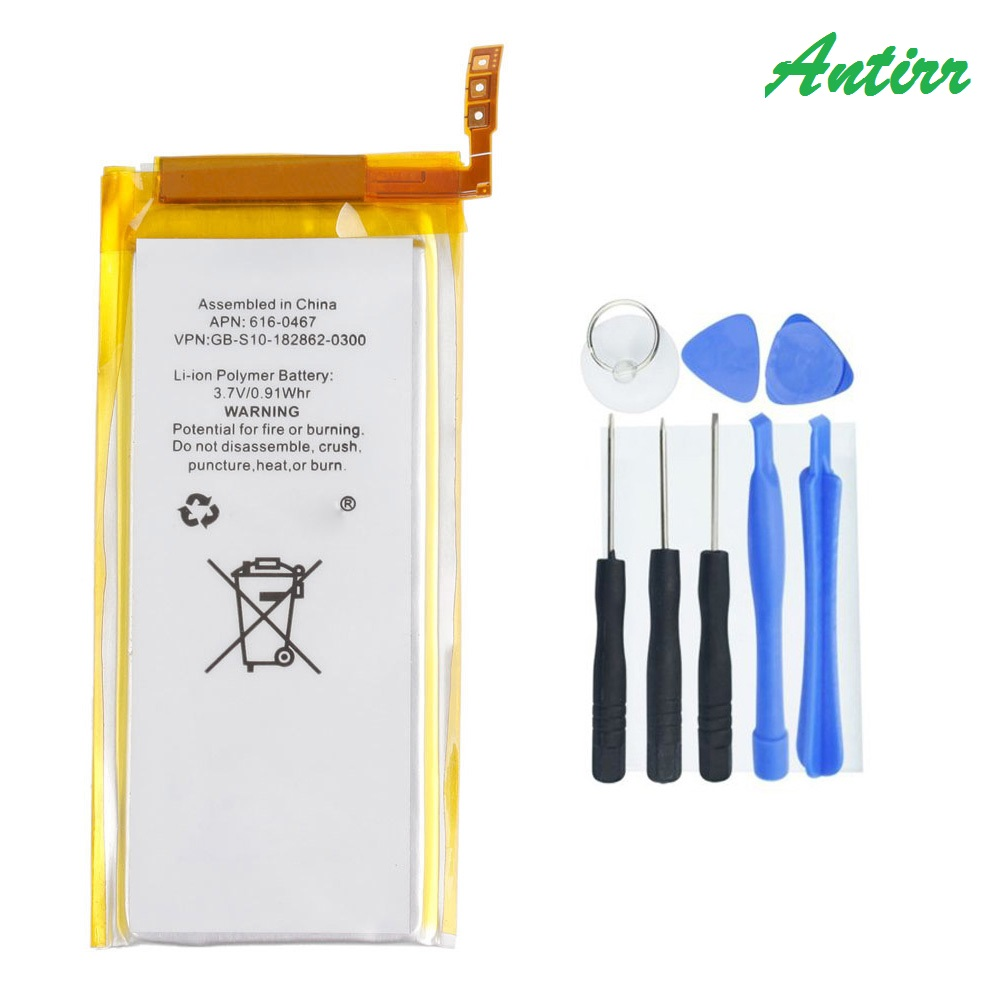 Brand New 3.7V Li-ion Battery Replacement for iPod Nano 5 5th Gen with ToolsBrand New 3.7V Li-ion Battery Replacement for iPod Nano 5 5th Gen with Tools