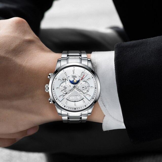 NESUN Luxury Brand Watch Multifunctional Display Automatic Mechanical 2