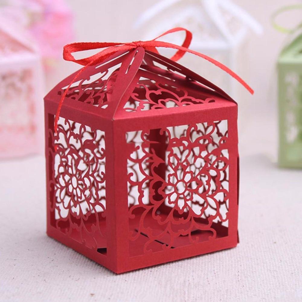 Wedding Decoration Cartoon Cute 25pcs/lot Candy Boxes Creative New ...