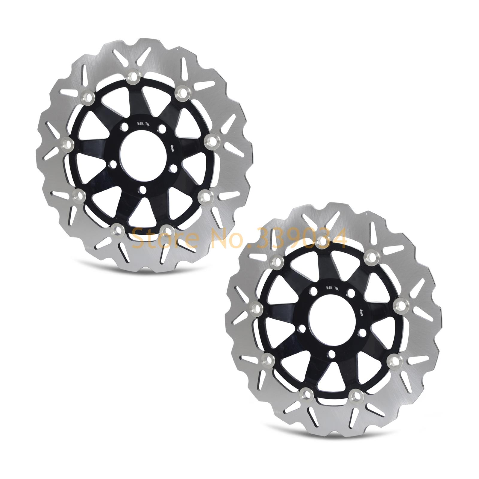 New Motorcycle Front Rotor Brake Disc For Suzuki GSX 400 650 750 GSF 600 650 SV 400 650 RGV 250 J/K/L 88-90