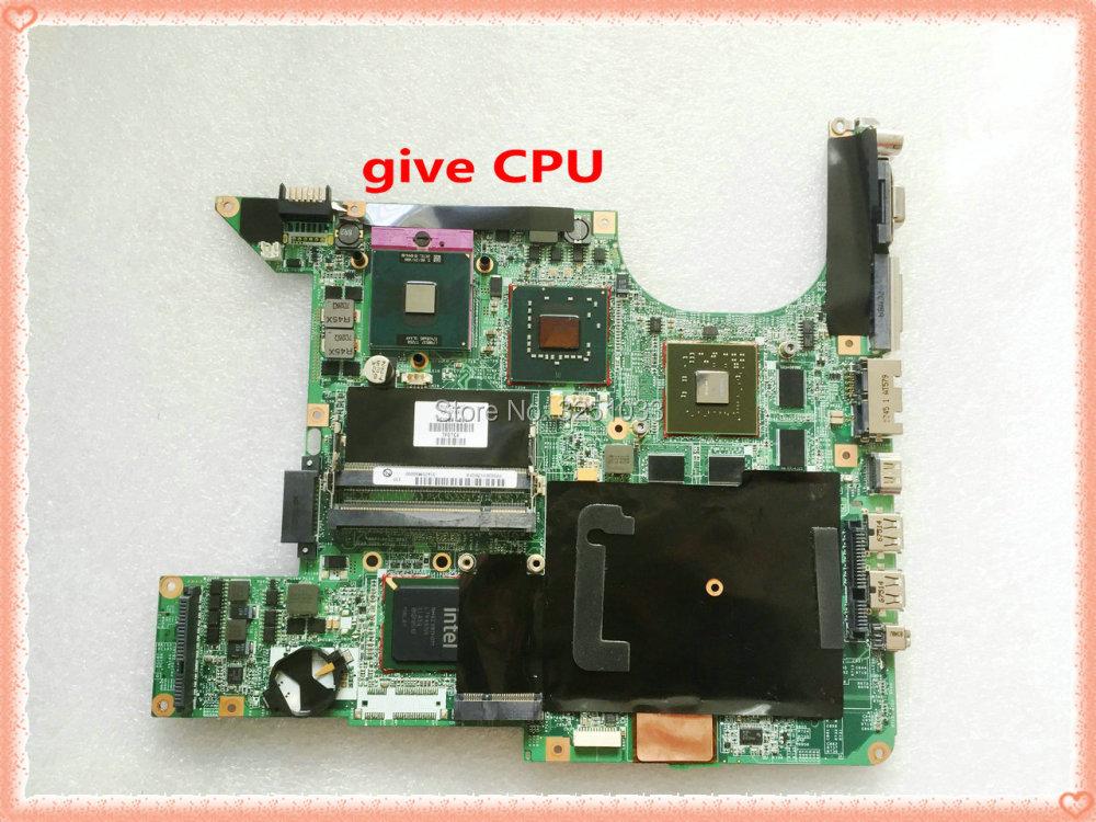 for HP PAVILION DV9000 NOTEBOOK DV9500 DV9800 DV9700 Motherboard 447983-001 461069-001 DA0AT5MB8E0 DDR2 tested good 744009 501 744009 001 for hp probook 640 g1 650 g1 motherboard socket 947 hm87 ddr3l tested working