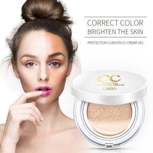 Brand LAIKOU Air Cushion Isolation CC Cream Korean Cosmetic Moisturizer Make Up Oil Control Hyaluronic Acid Whitening BB Makeup