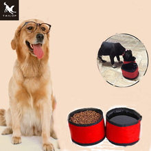 TAILUP Collapsible Dog Travel Bowls Pet Cat Food Container and Bottler For Water 2 in 1  pet food bowl  dog and cat  food bag