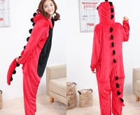 Kigurumi Green Dragon Dinosaur Cosplay Pajamas Pyjamas Adult Children Cartoon Lovely China Dragon Onesie Costume