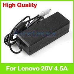 90 W 20 V 4.5A sieciowy laptop zasilacz ładowarka do Lenovo ThinkPad SL530 T410SI T420SI T430SI V580 V580A V580c
