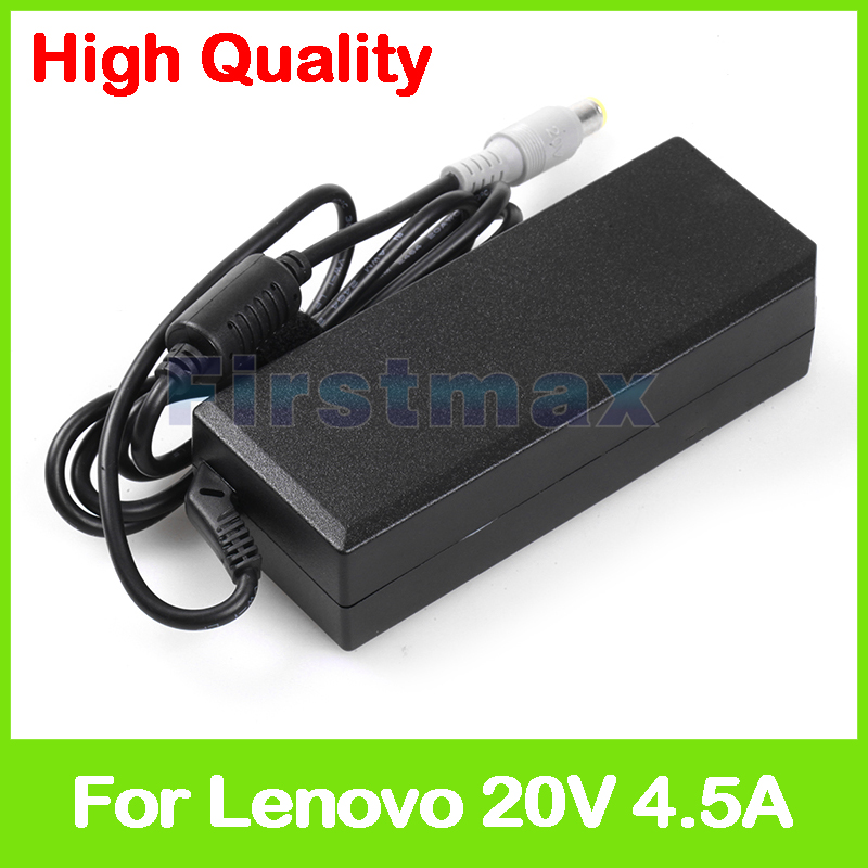 90W 20V 4.5A universal laptop AC power adapter charger for Lenovo ThinkPad SL530 T410SI T420SI T430SI V580 V580A V580c|Laptop Adapter| |  - title=