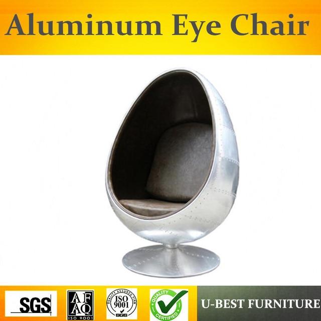 U BEST Leisure Fiberglass Space Eye Ball Cheap Egg Pod Chair,Classic  Designer Fiberglass
